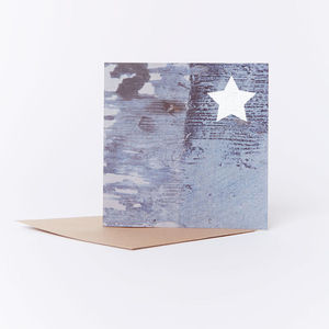 Night Sky Christmas Card - new lines added