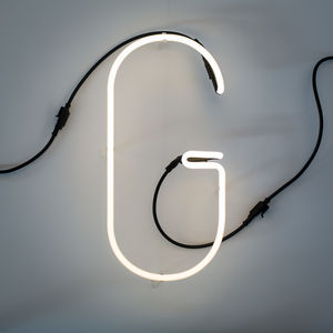 Neon Font Letter Lights - lighting