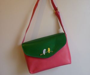 Love Birds Handbag - bags & purses
