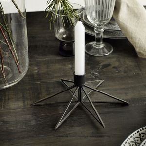 Star Shaped Candle Holder - candles & candlesticks
