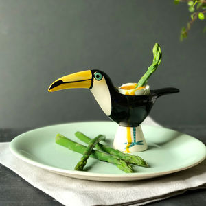 Toucan Egg Cup - egg cups & cosies