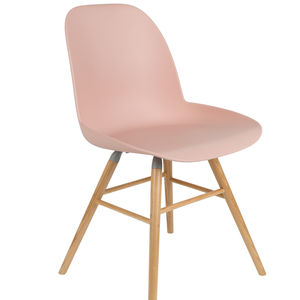 Scandinavian Blush Pink Chair