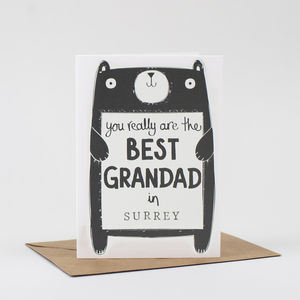 Best Grandad Father's Day Card