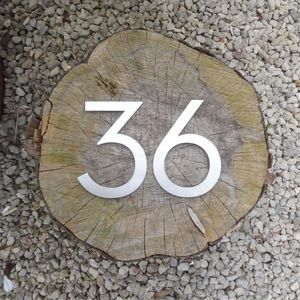 Custom Made House Number - house numbers & doorbells