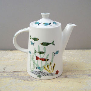 Fish Teapot - tableware