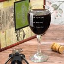 Personalised Wine Glass Daily Measures