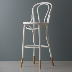 Bentwood Two Tone Barstool - living room