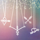 Heart And Arrow Necklace Collection