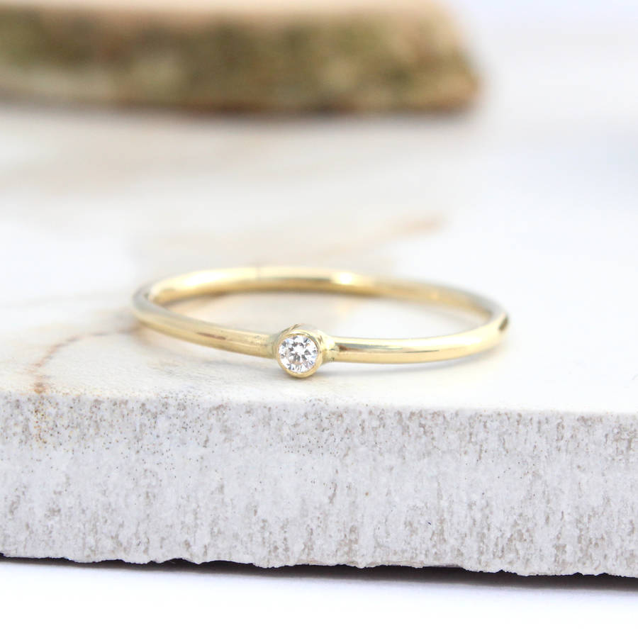 gold bands diamond engagement ring rose wedding valentine present day eternity band stackable valentines il half rings jewellery s pave fullxfull micro