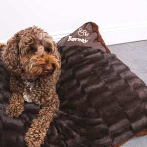 Personalised Dog Bed - gifts for pets