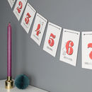 12 Days Of Christmas Bunting Decoration
