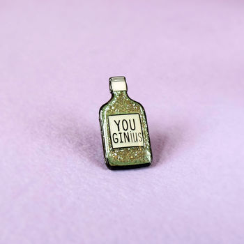Gin Ius Enamel Pin Badge