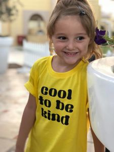 Cool To Be Kind Kids Printed Tshirt - clothing