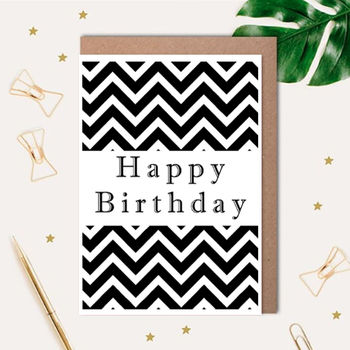 Happy Birthday Printed Card