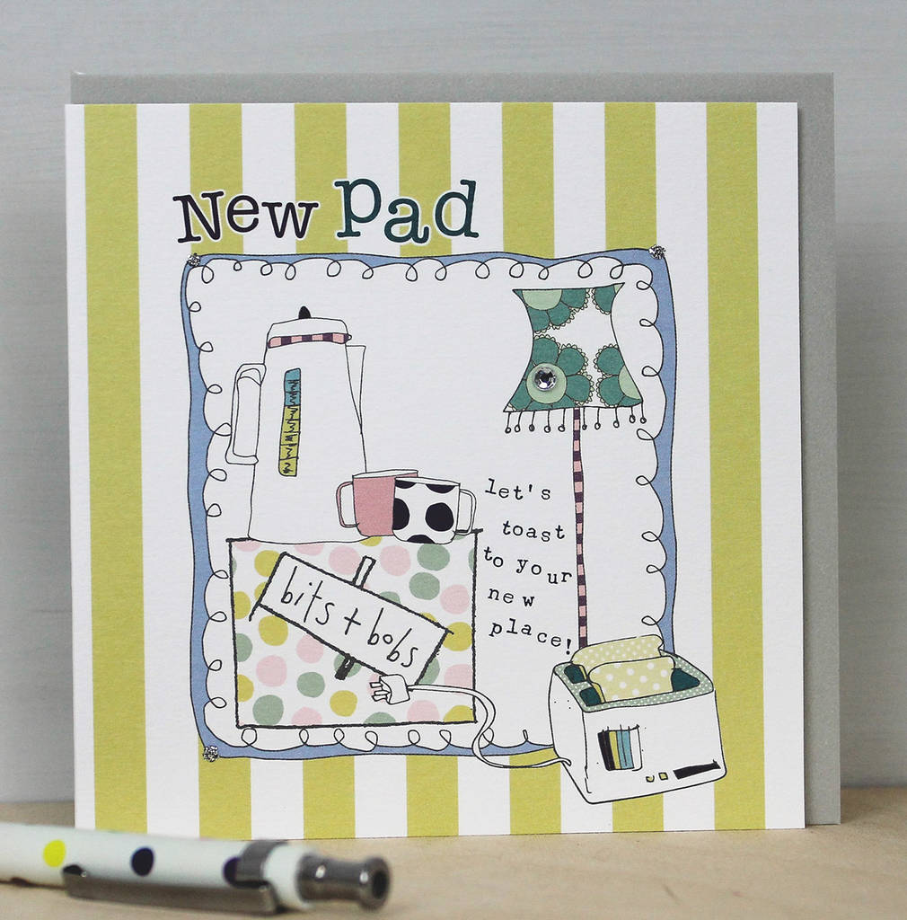 New home greetings card by molly mae notonthehighstreet new home greetings card kristyandbryce Image collections