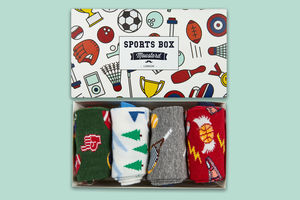 Men's Sports Socks Gift Box