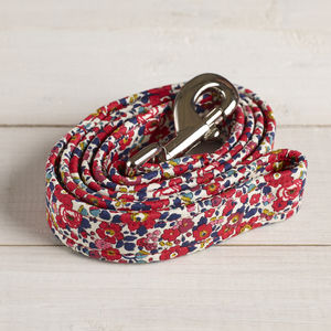 Liberty Fabric Dog Lead - dogs
