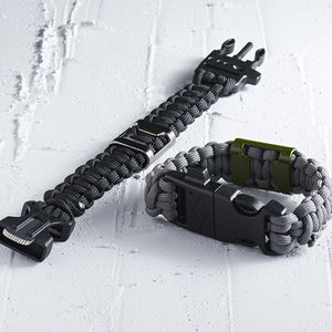 Survival Bracelet With Bottle Opener - men's jewellery