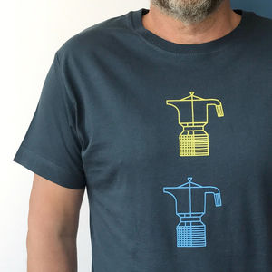 Coffee Tshirt: Double Espresso - gifts for him