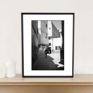 Football, Fes, Morocco, Art Print