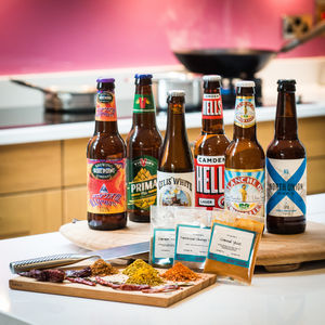 Craft Beer And Curry Night In Gift Kit - beer & cider