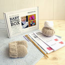 Baby Merino Mittens Beginner Knitting Kit