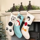 Fair Trade Wool Christmas Character Stockings