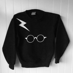 Glow In The Dark Wizard Inspired Sweatshirt - clothing