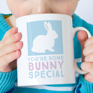 Personalised Bunny Mug - easter home