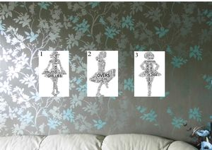 Irish Dancer Personalised Word Art Print