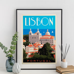 Lisbon, Portugal Travel Print