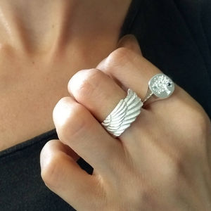 Personalised Wing Ring
