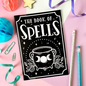 Book Of Spells Notebook