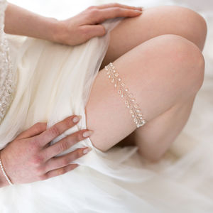 'Joy' Wedding Garter