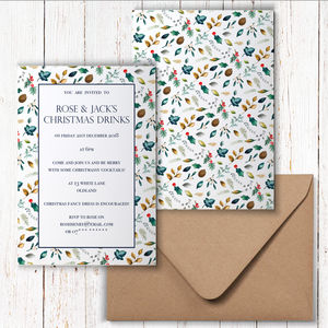 Christmas Party Invitations - cards & wrap