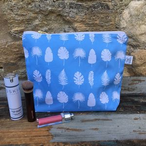 Popflower Cotton Wash Bag