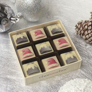 Chocolate Santa Hats And Christmas Puddings - christmas sale