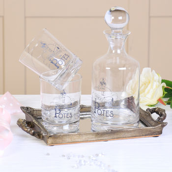 Apothecary Whisky Taster Barware Gift Set