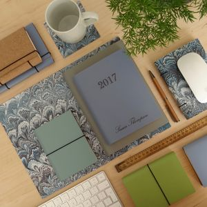 2017 Leather Diary - personalised