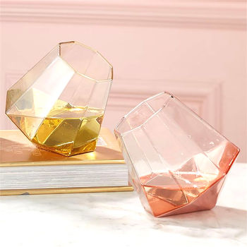 Shine Bright Like A Diamond Stemless Glass