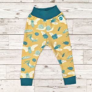 Bug Leggings - woodland trend