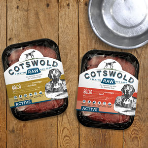 Premium Raw Sausage Dog Food Box Bundle