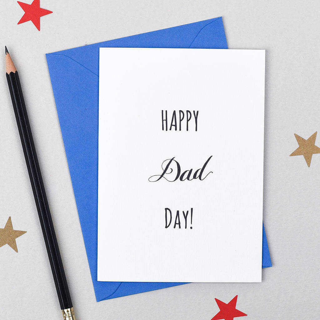 Happy Dad Day Birthday Card