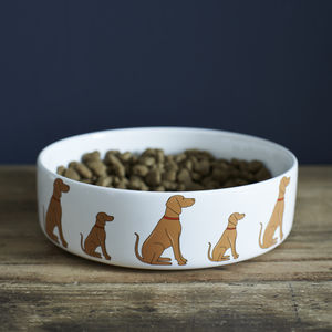 Vizsla Dog Bowl