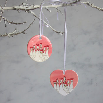 Personalised Hen Party Or Wedding Hanging Decoration