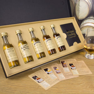 Scotland's Long Lost Distilleries Whisky Gift Set - whiskey