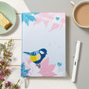 Bird Vintage Fabric Notebook
