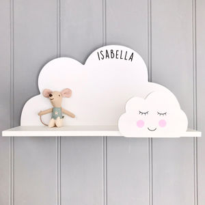 Personalised Cloud Shelf