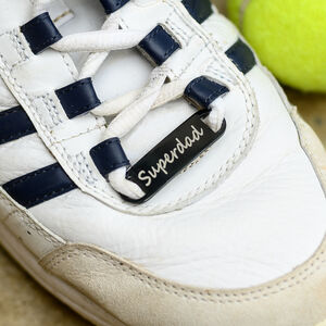 Personalised Dad's Sport Shoe Tag