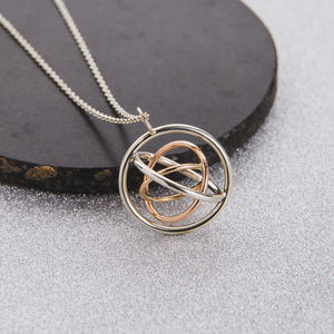 Personalised Family Circle Pendant